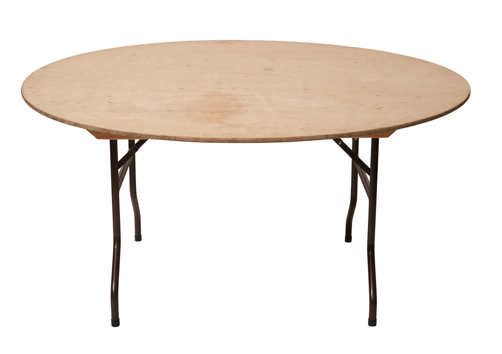 Round Table For 4 Diameter: Dining Table Folding Leg (indoor)