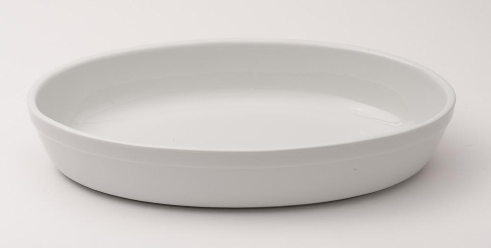Dish White Oval Serving Dish 34 X 23 Cm Cambridge
