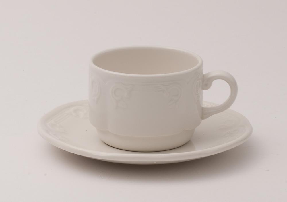 Cup Tea Cup 19 cl Dudson Aspen White