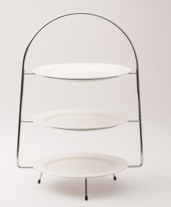 3 tier buffet/cake stand
