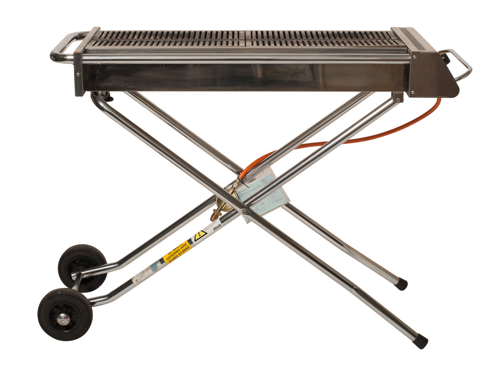 Kitchen folding table and chairs - Folding Gas Barbecue Buffalo Propane Cambridge