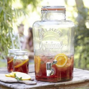 Kilner with Pimms
